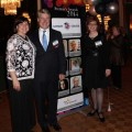 Kristine Dempster and nominee David Smythe with Loyalist College President and CEO Maureen Piercy