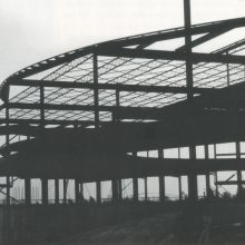 The construction of the Kente Building
