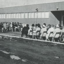 Official opening of Loyalist College, October 19th, 1968 (Pioneer Building)