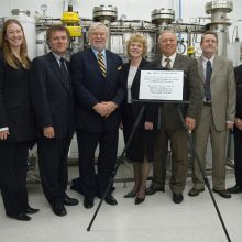 Opening of CO2 Extraction Lab