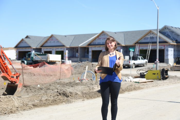 Katrine Dussault - Architectural Technologist & Designer, Duvanco Homes; Loyalist College Architectural Technology graduate 2014