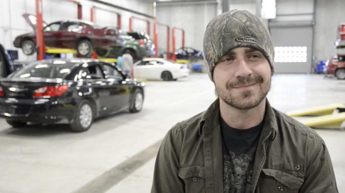 """I am definitely enjoying the program. I've learned a lot from my professors and just the hands-on experience itself is really rewarding. It's a great facility, lots of up-to-date equipment. I am looking forward to my remaining years with Loyalist."" Will Joyce Automotive Service Technician Apprentice"