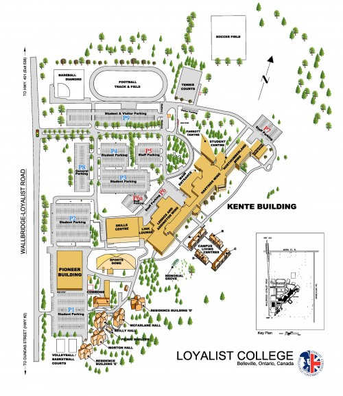 Campus Maps And Directions Loyalist College