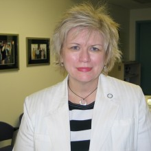 Nominee Joy Peacock was recognized for contributions in the field of Health Sciences