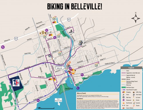 Biking in Belleville