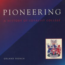 A Book published by Orland French, Writer and Journalism Professor