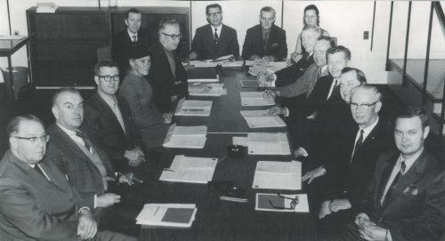 Loyalist College Board of Governors. Circa 1970.