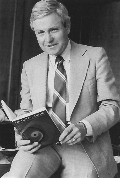 President Douglas A.L. Auld, 1988