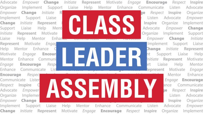 Class Leader Assembly