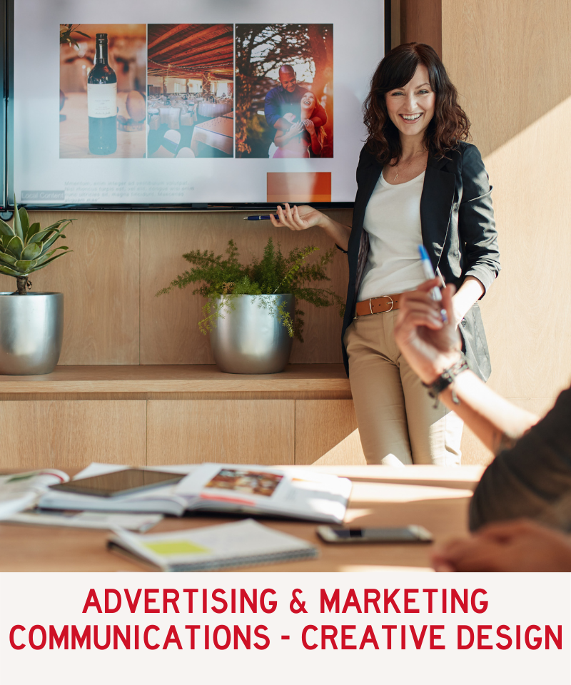 Link to Advertising and Marketing Communications - Creative Design Program