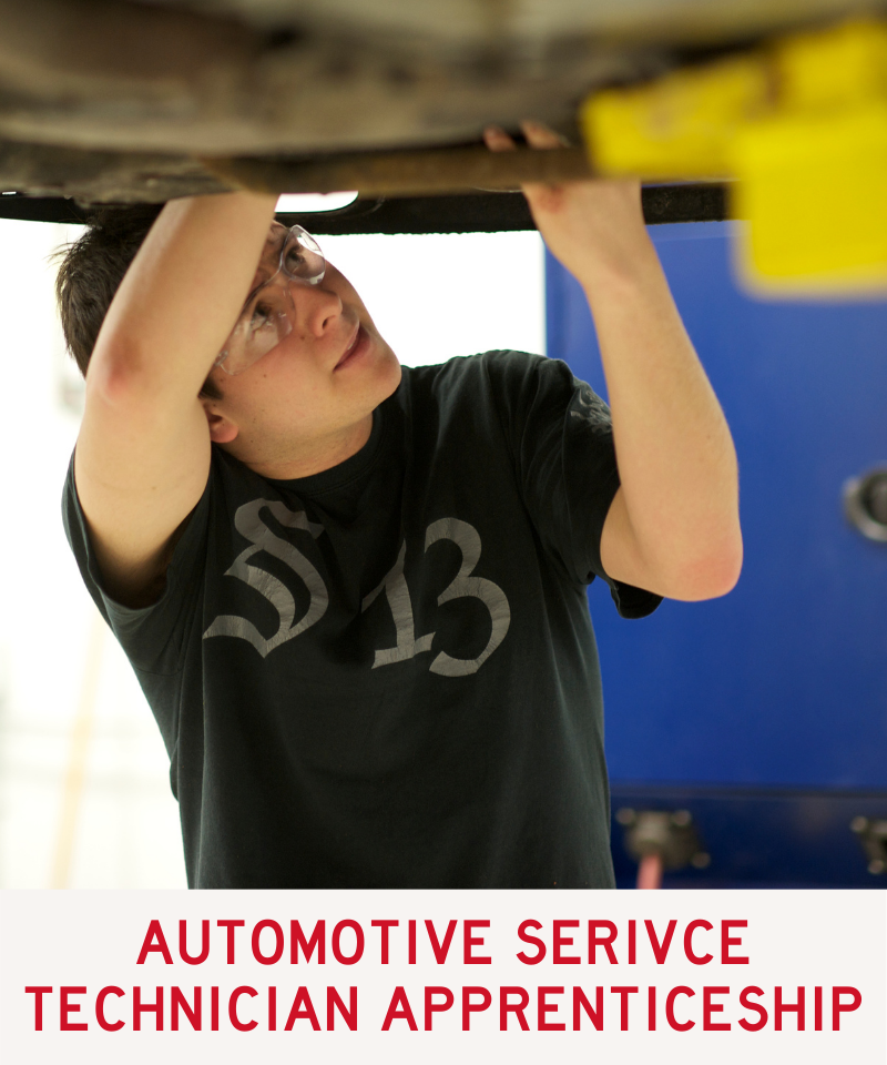 Link to Automotive Service Technician Apprentice