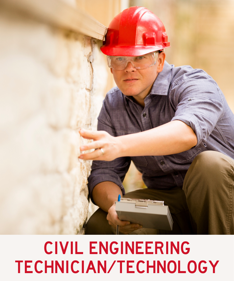 Link to Civil Engineering Technician and Engineering Technology Program