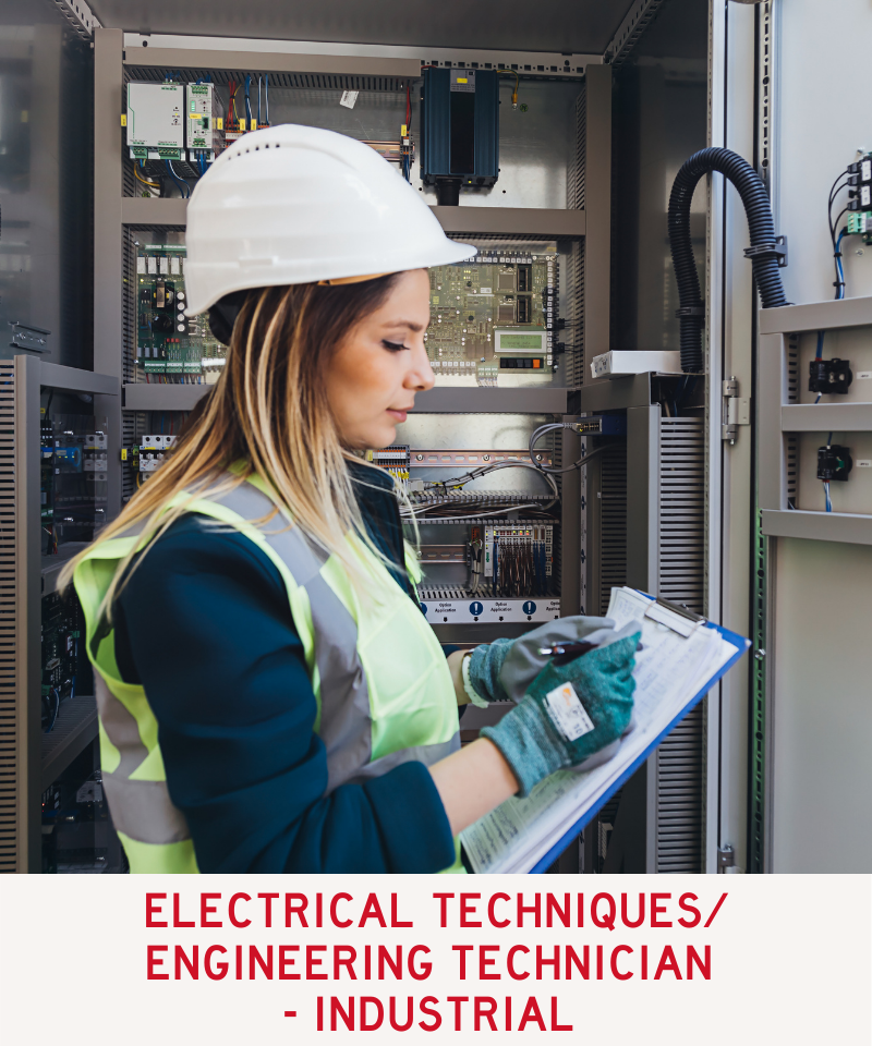 Link to Electrical Techniques/Egineering Technician - Industrial Program