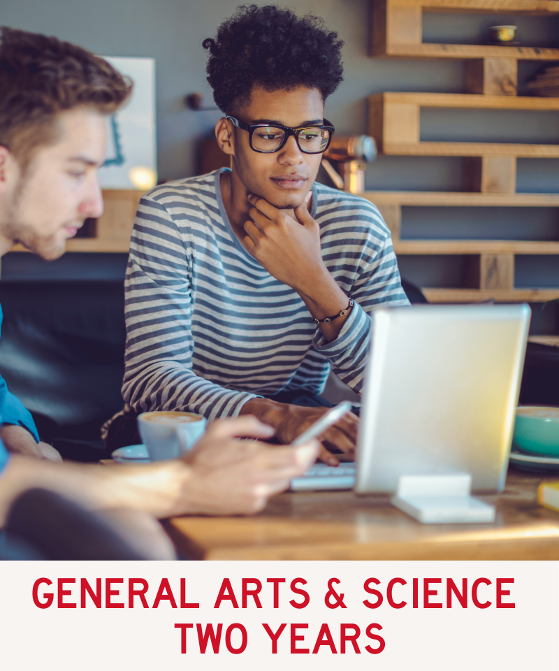 Link to General Arts & Science program