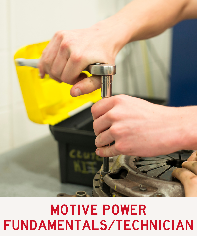 Link to Motive Power Fundamentals/Motive Power Technician Program