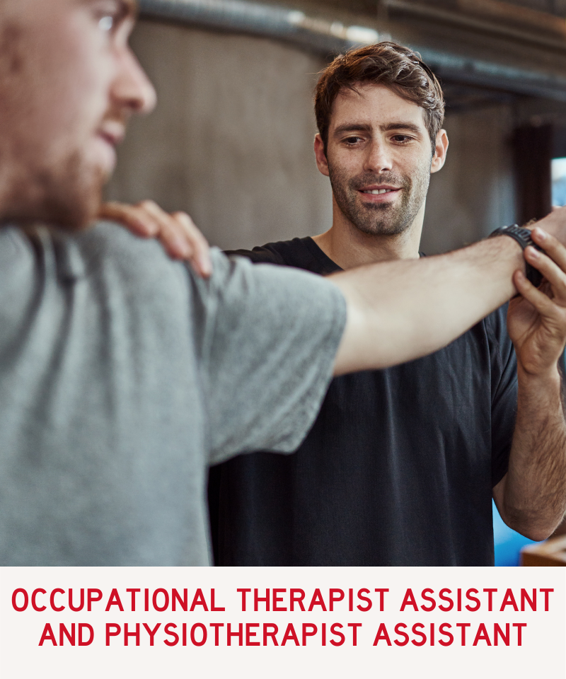 Link to Occupational Therapist Assistant and Physiotherapist Assistant Programs