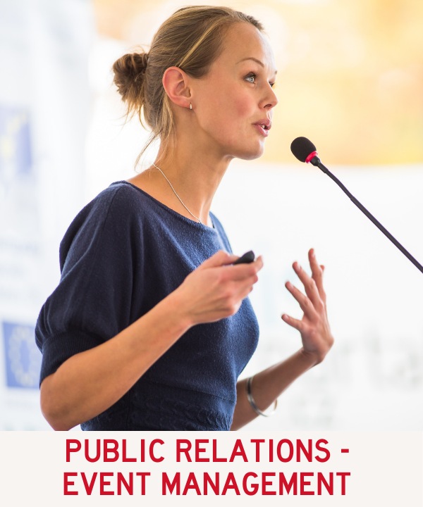 Public Relations - Event Management Program Link