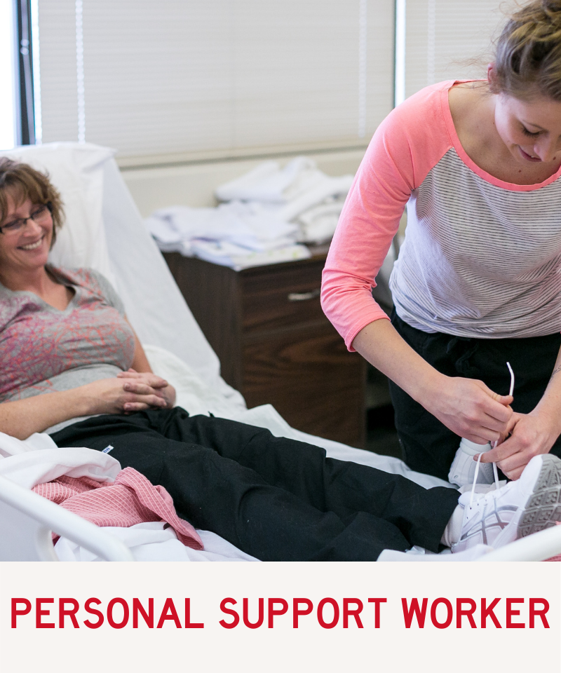 Link to Personal Support Worker Program