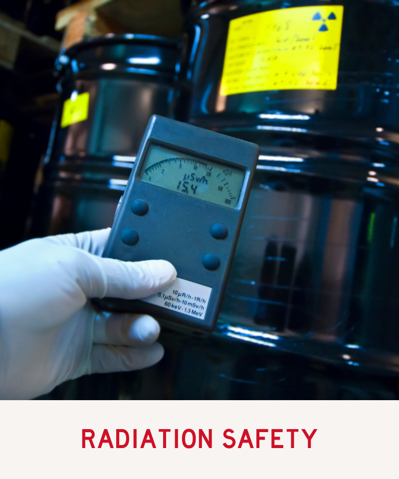Link to the Radiation Safety program
