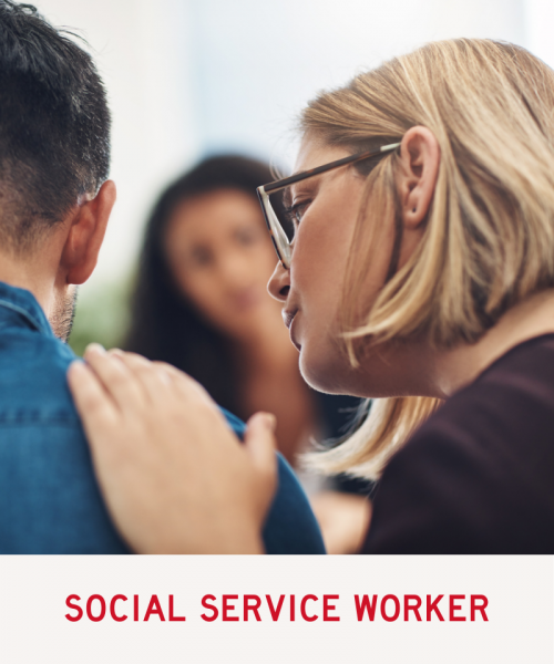 Link to Social Service Worker Program