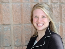 Social Service Worker (SSW) graduate (2011) Meaghan Martindale, works for Celebrate the Hero.