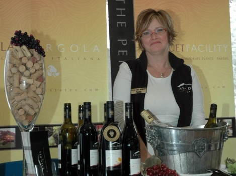 Barb Vancleaf from Casa Dea Winery.